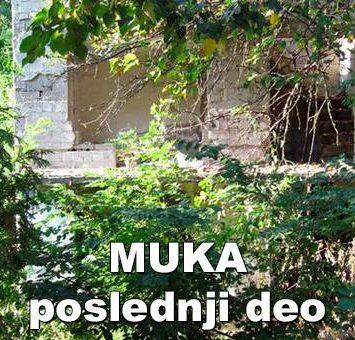 Muka (poslednji deo)-Ilija M. Popović – Pop
